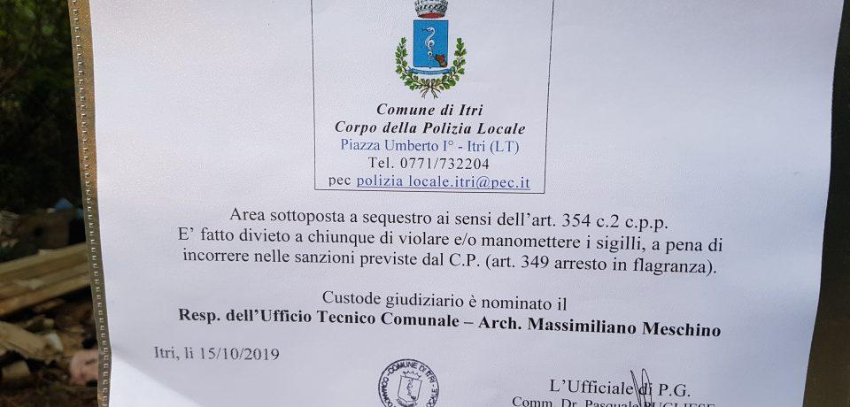Itri / Ristrutturava stabilimento balneare a Formia scaricando rifiuti a Itri, tre denunciati