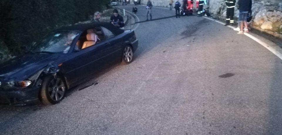 Weekend fatale per due uomini, ferito leggermente un motocilcista