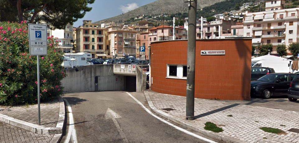 Formia / Chiusura temporanea del parcheggio interrato di Largo Paone e del multipiano Stazione