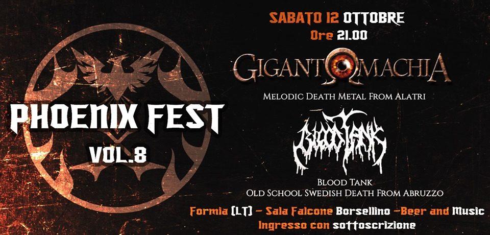 """Formia/ II edizione del """"Phoenix Fest"""""""