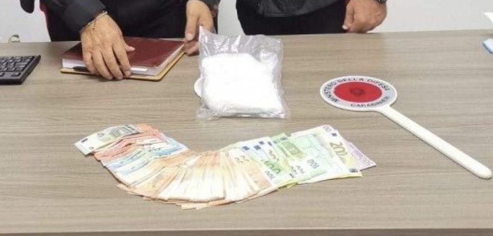 Santi Cosma e Damiano / Arrestati 3 pusher: avevano quasi mezzo chilo di cocaina nell'auto pusher in manette.