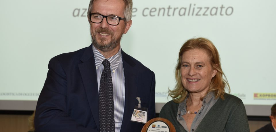 """Gaeta / Intergroup riceve il premio """"Logistico dell'anno"""" da Assologistica"""