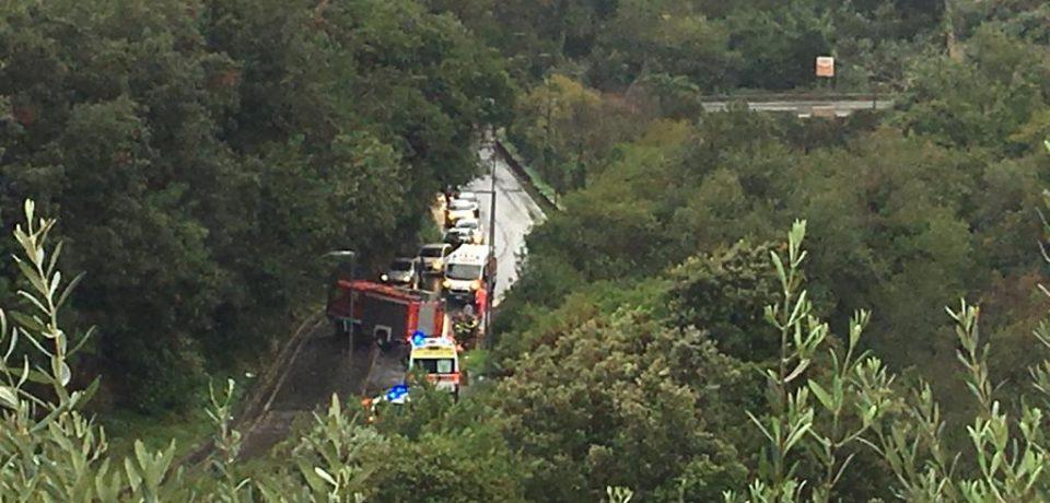 Itri / Auto cade in un fossato, ferita una 24enne di Fondi
