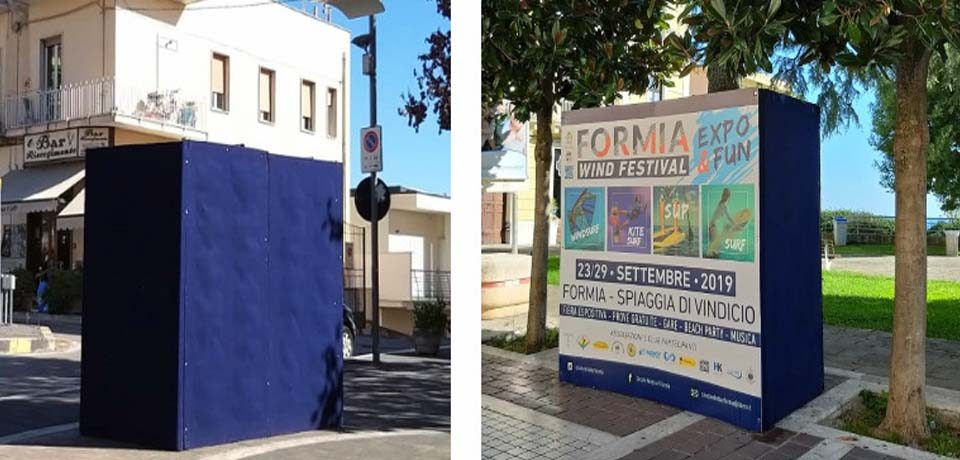 Formia / Totem pubblicitari, i dubbi dei consiglieri comunali della Lega