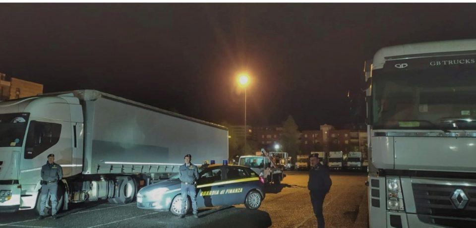 Latina / Sequestrate oltre 40 tonnellate di gasolio di contrabbando