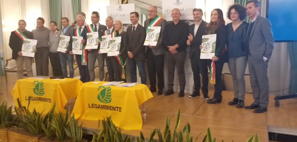 """Itri premiato come """"Comune Riciclone"""" anche per il 2019"""