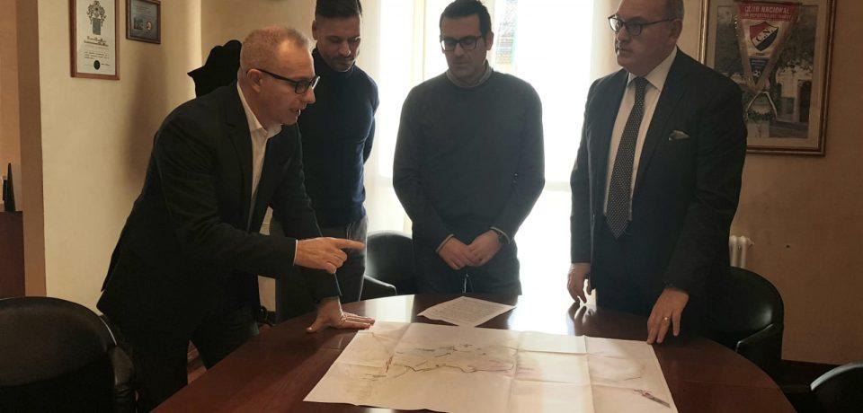 Itri / Il Sindaco Antonio Fargiorgio incontra i tecnici di Acqualatina