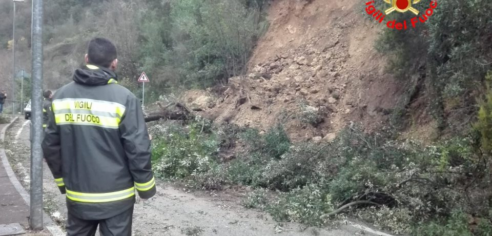 Castelforte / Maltempo, evacuate 15 famiglie a Suio Terme
