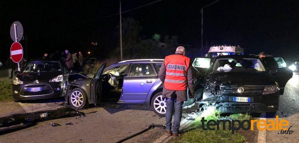 Incidente sulla Superstrada Formia-Cassino: una donna morta e due feriti