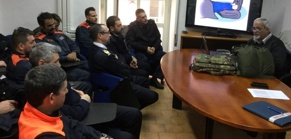 Gaeta / Collaborazione tra Capitaneria di porto e Corpo militare volontario Cri del sud pontino