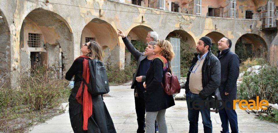 Ventotene / Carcere di Santo Stefano, il sopralluogo del neo commissario Silvia Costa