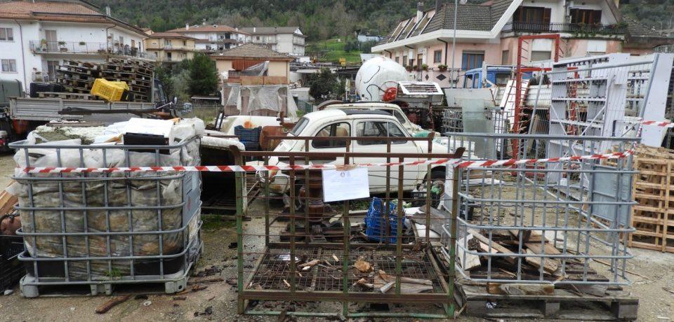Itri / Attività artigianale irregolare: tre persone denunciate e sequestro penale dell'area