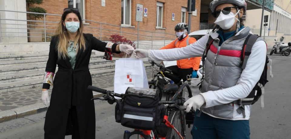 Coronavirus, a Gaeta parte oggi la consegna dei kit a medici e forze dell'ordine