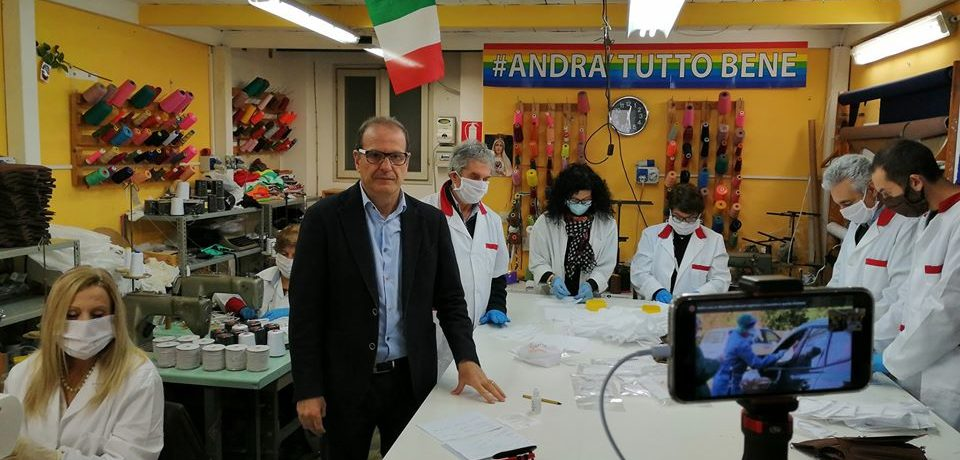 Coronavirus e l'esposizione mediatica del sindaco di Gaeta Cosimino Mitrano
