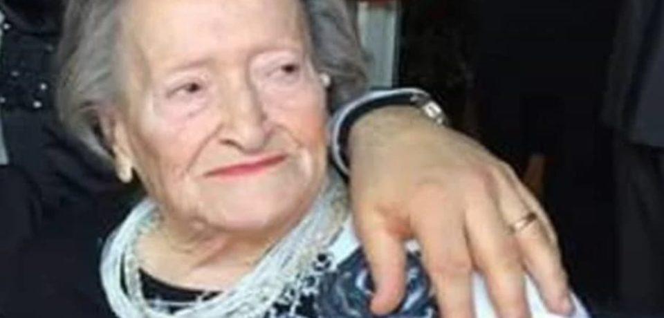 Fondi in lutto per la scomparsa di Nonna Elpidia Tammetta