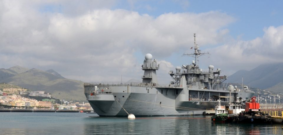 Coronavirus, caso USS Mount Whitney: contagio avvenuto prima di arrivare a Gaeta