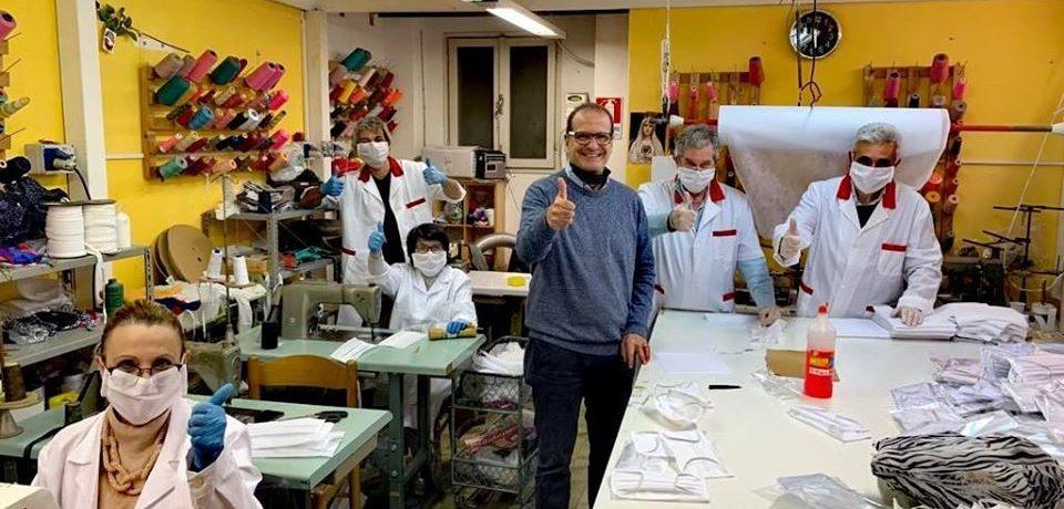 Coronavirus, arrivano le mascherine con il brand del Comune di Gaeta