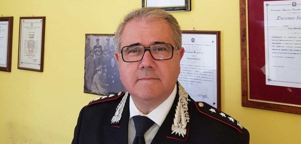 Carabinieri, diventa colonnello e va in pensione Pietro Dimiccoli