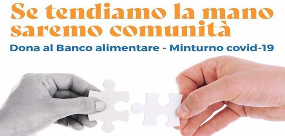 Coronavirus, il Comune di Minturno attiva il banco alimentare e il sindaco Stefanelli dona 1000 euro